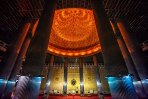Interior of Masjid Istiqlal Jakarta, Indonesia