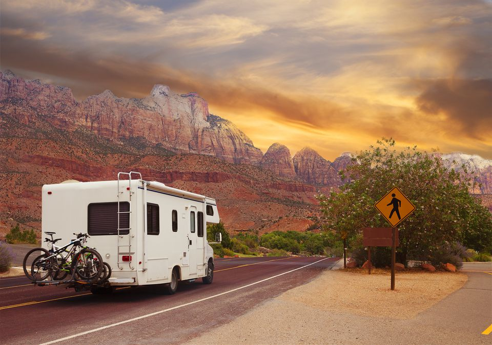 winter RVing in the desert