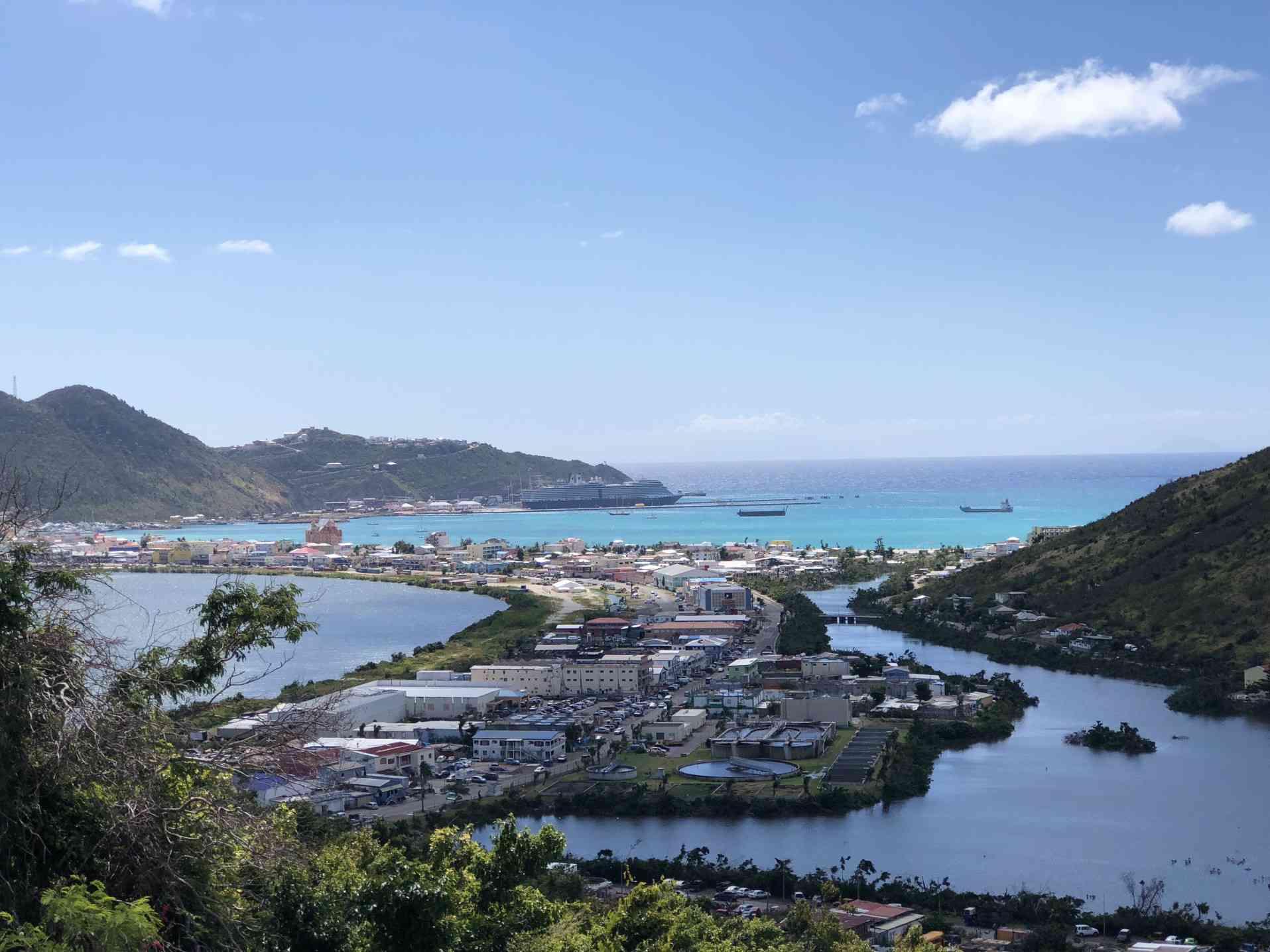 Puerto Phillpsburg en St Maarten