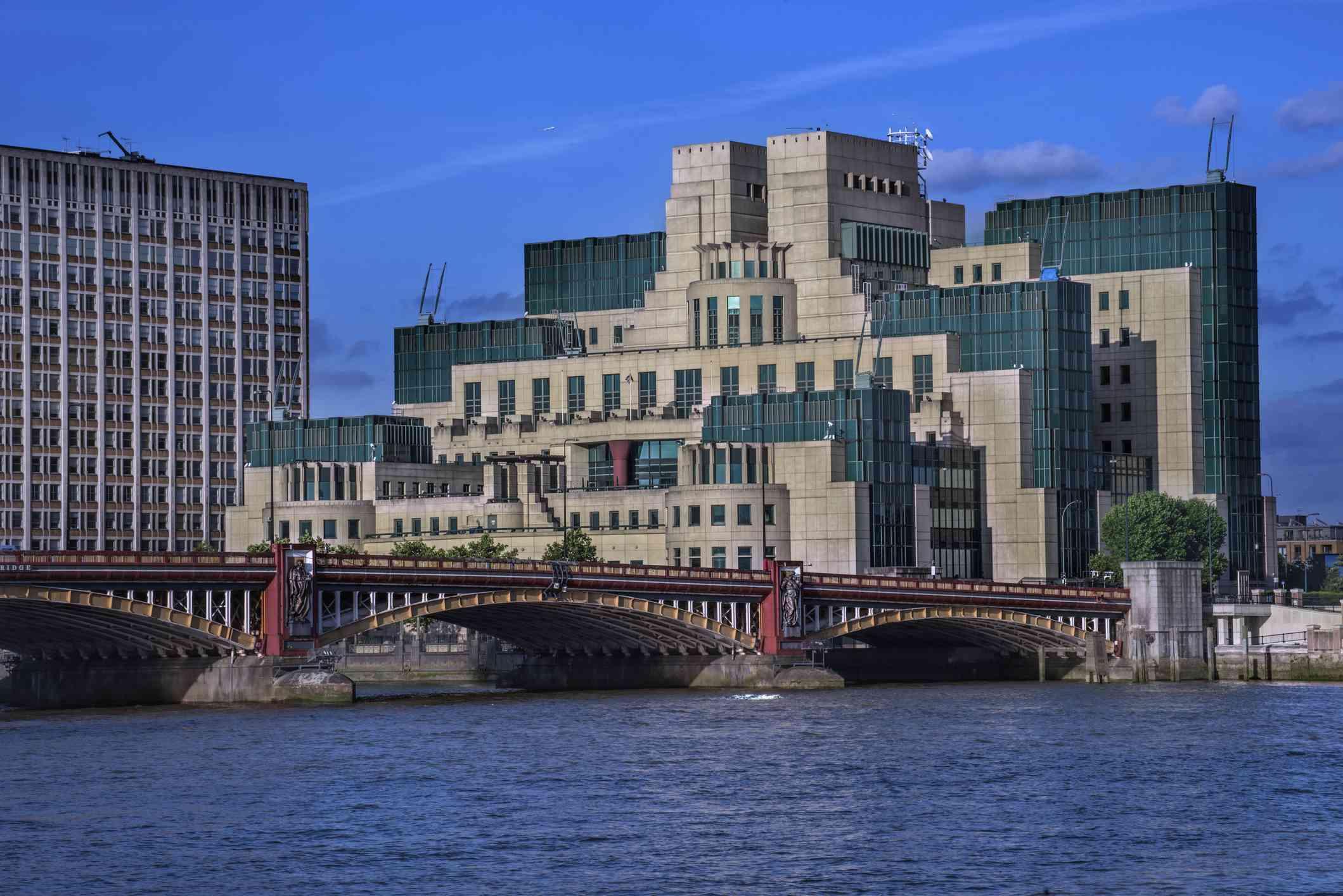 MI5 building in London