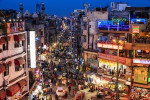 Paharganj Main Bazaar.