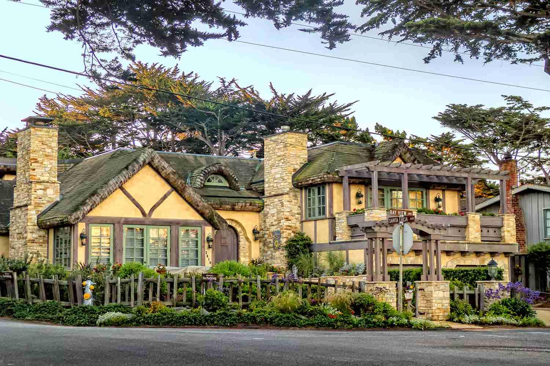 Fairy Tale Architecture in Carmel