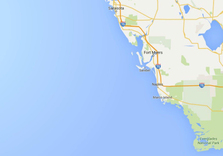 Map Of Southwest Florida Coast.Maps Of Florida Orlando Tampa Miami Keys And More