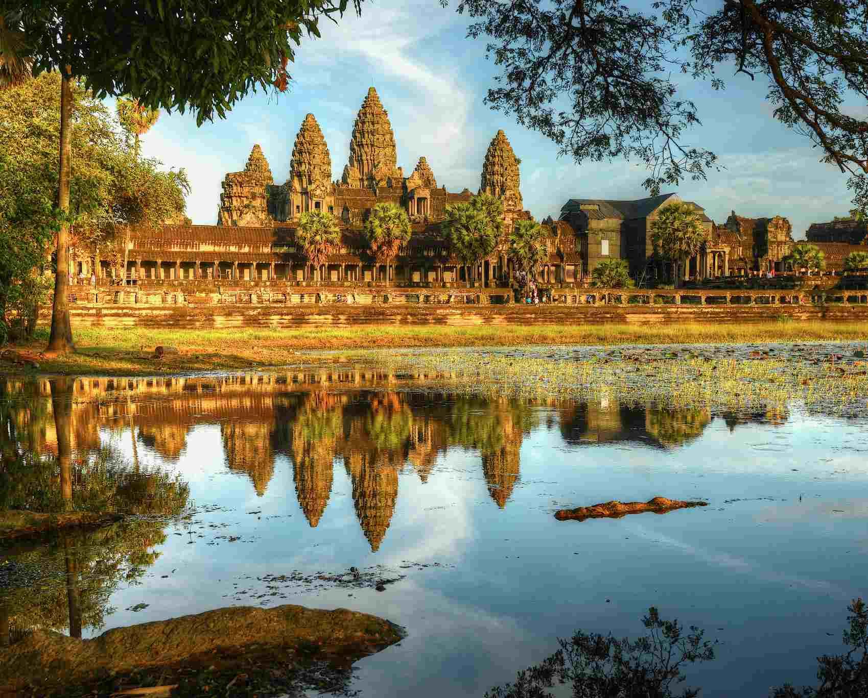 Angkor Wat es un destino de lista de deseos