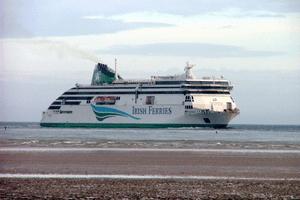 """Ulysses"" - a civilised way to reach Ireland"