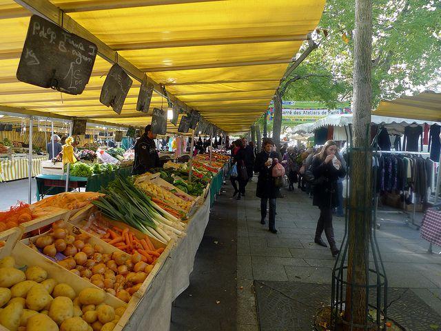 Bastille Market, Paris