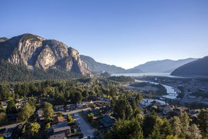 Sea to Sky Highway in Squamish, British Columbia