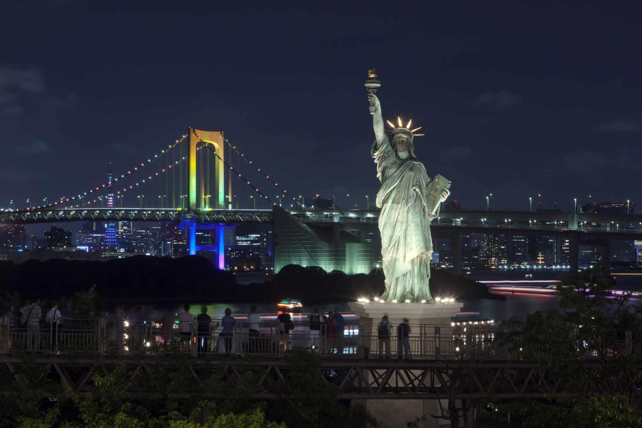 Tokyo Statue of Liberty