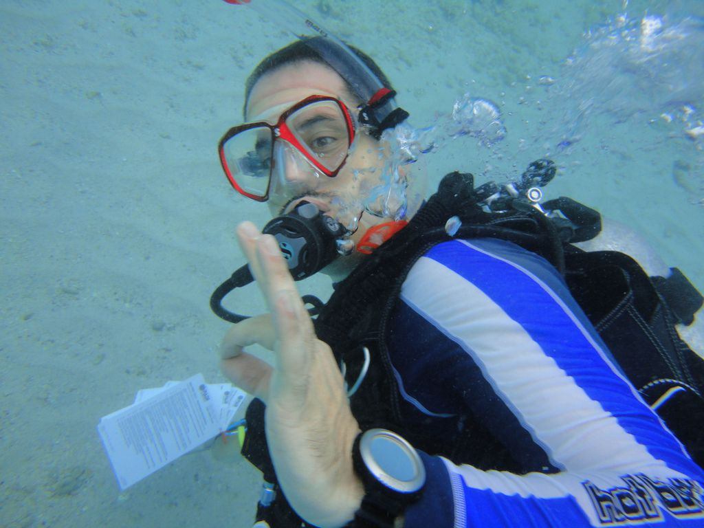 Mahmoud Abu-Wardeh -- My dive instructor