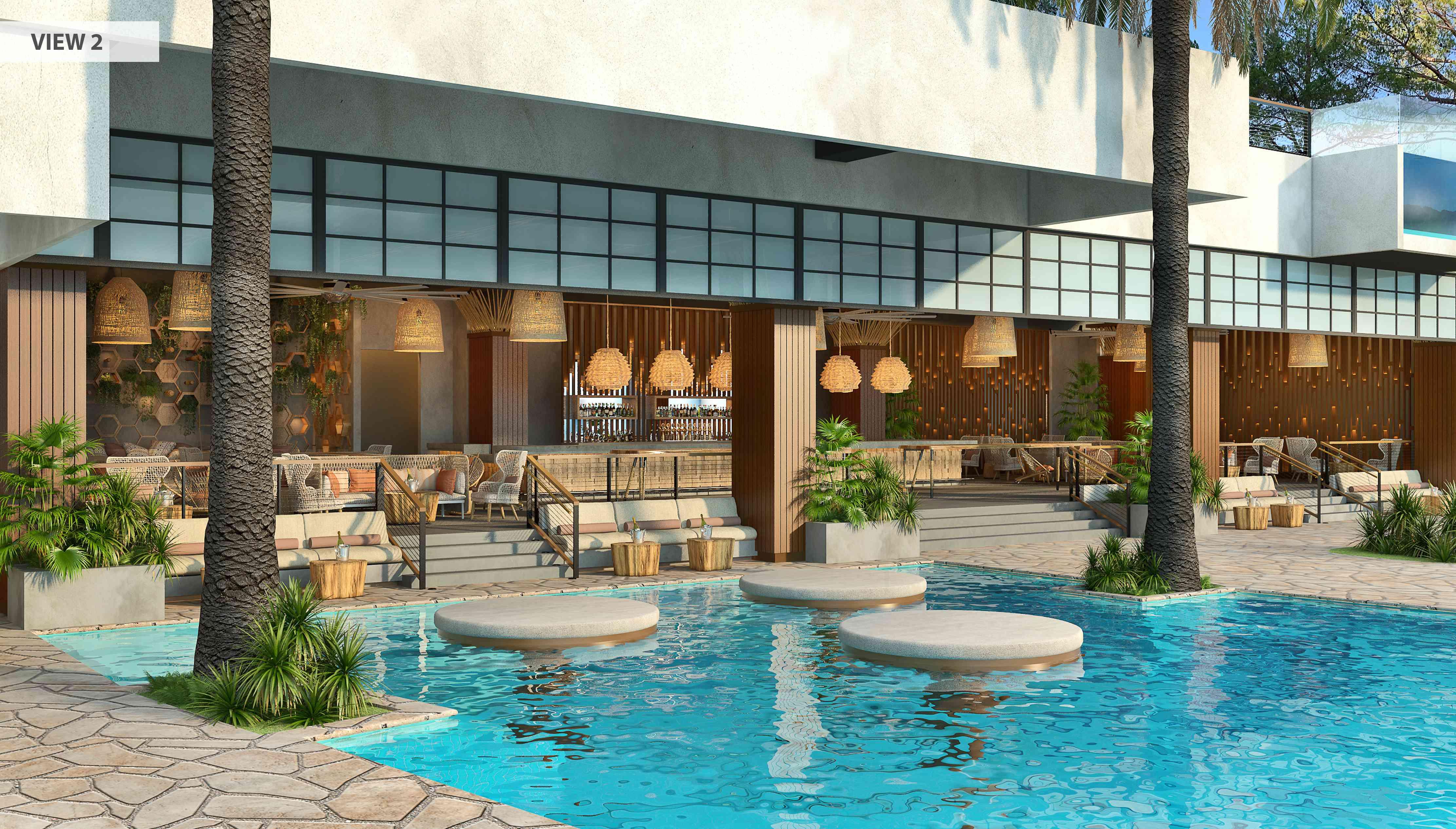 Pool at Virgin Hotels Las Vegas