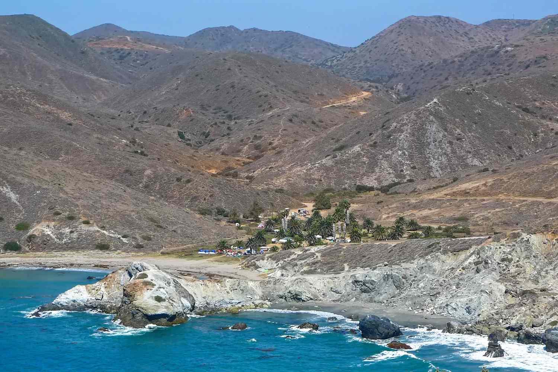 Catalina's Back Country Camping