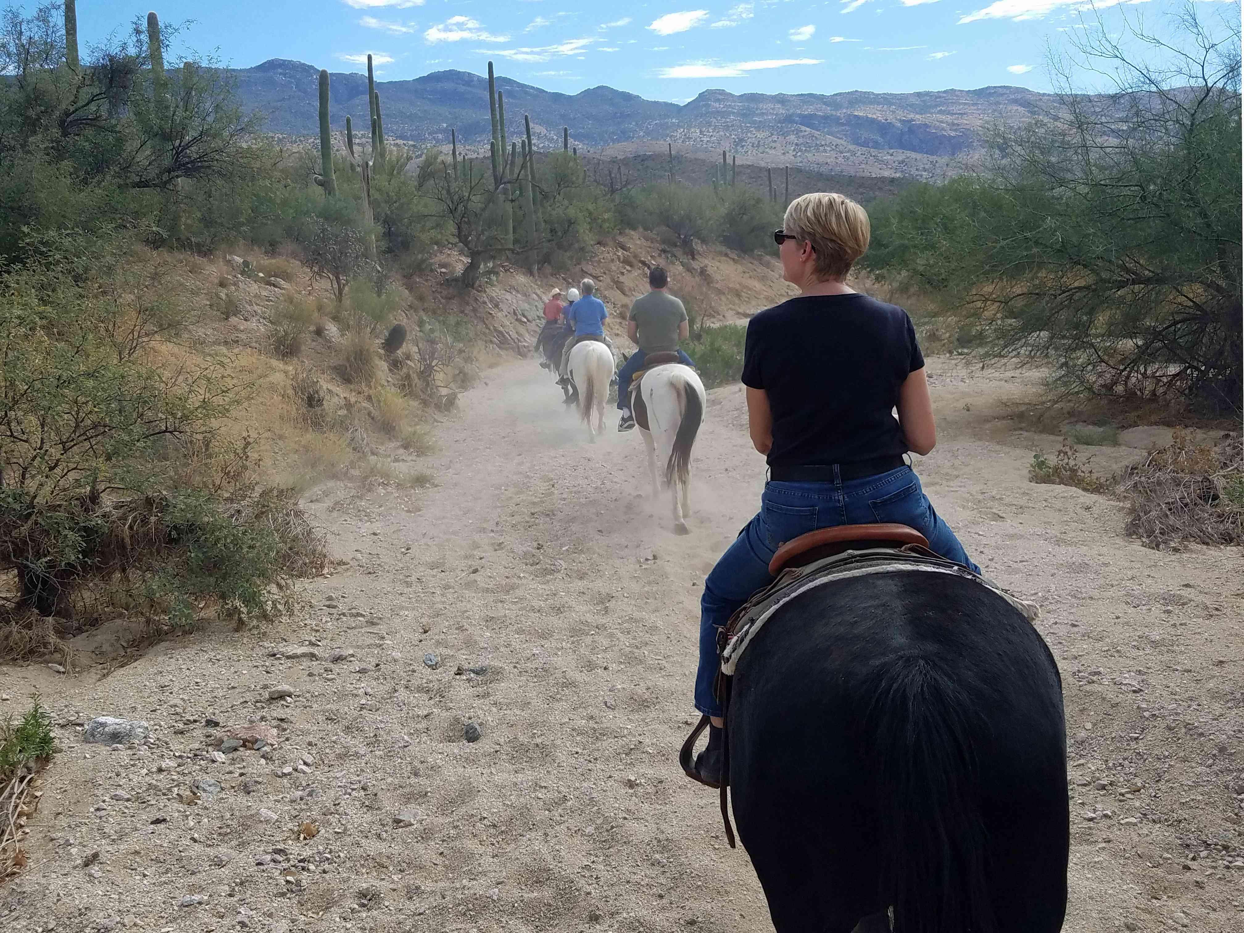 Horseback Riding at Tanque Verde Ranch