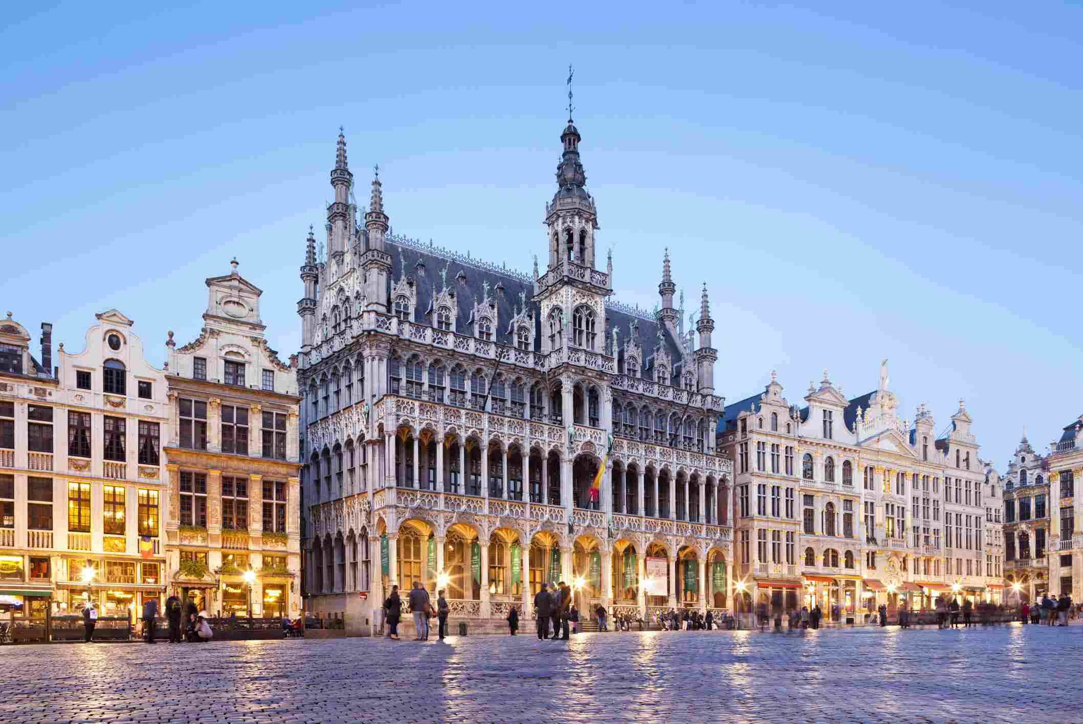 brussels belgium sites