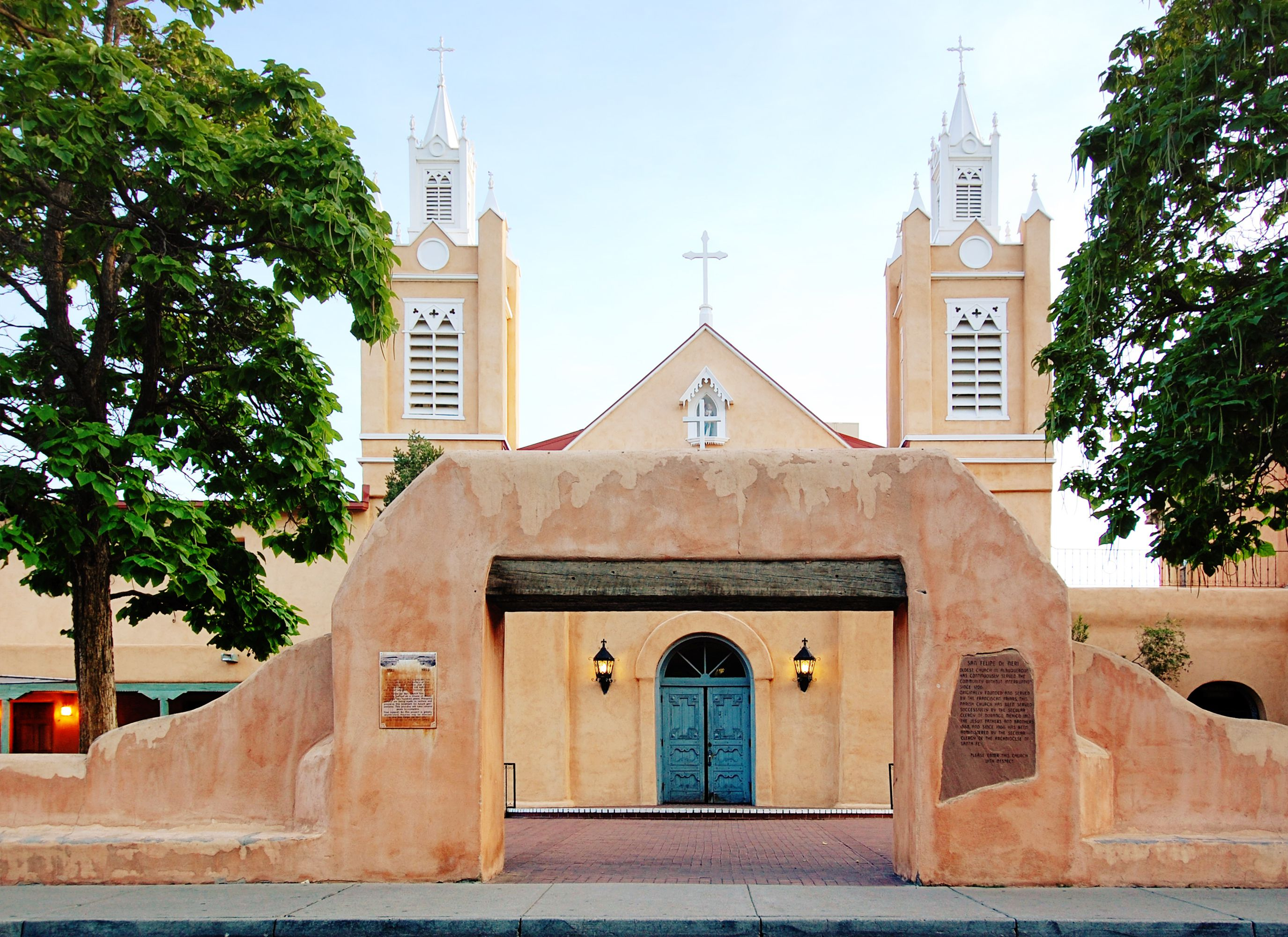 San Felipe de Neri Church in Albuquerque