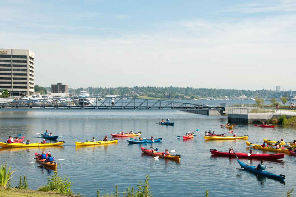 Lake Union Kayak class in Seattle