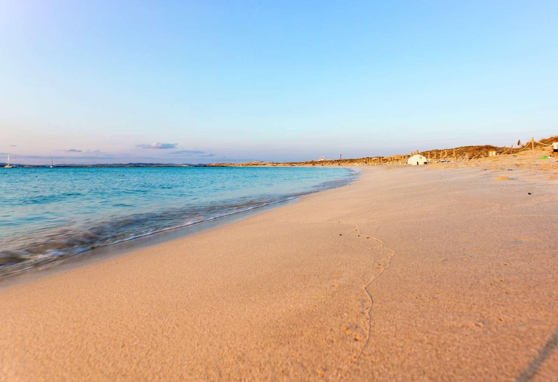 Es Pujols beach, Formentera