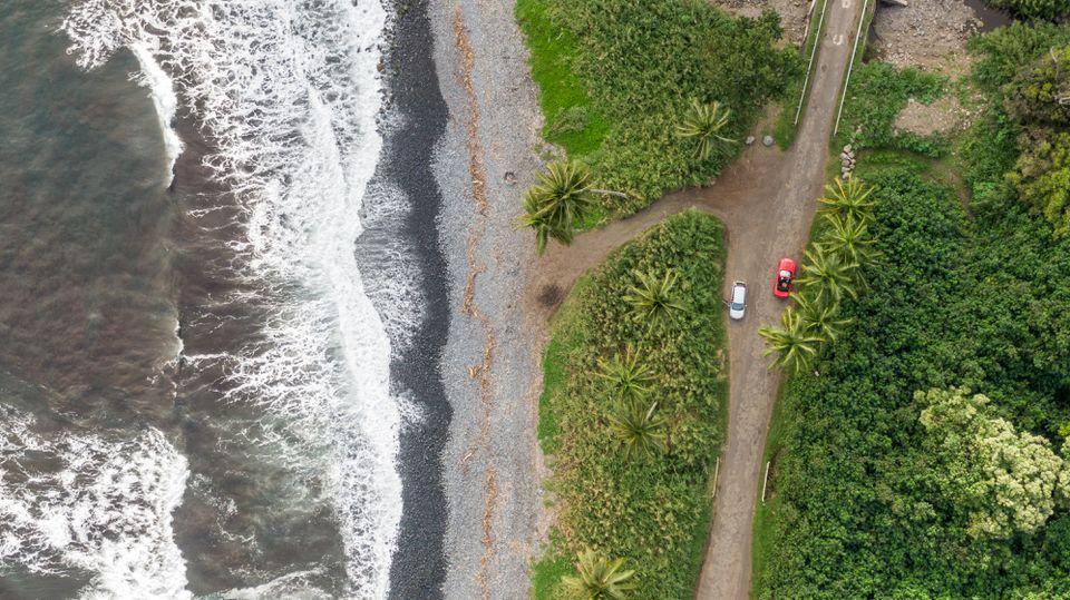 Camino en Maui