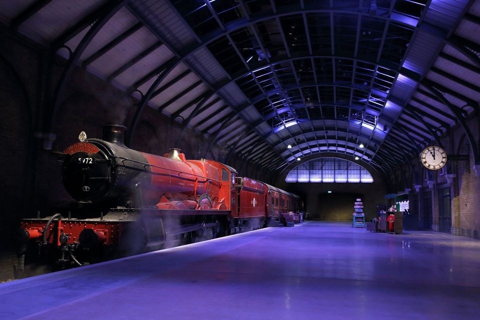 Photocall And press Launch Of Hogwarts Express And Platform 9 3/4