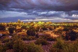 Albuquerque Skyline, New Mexico