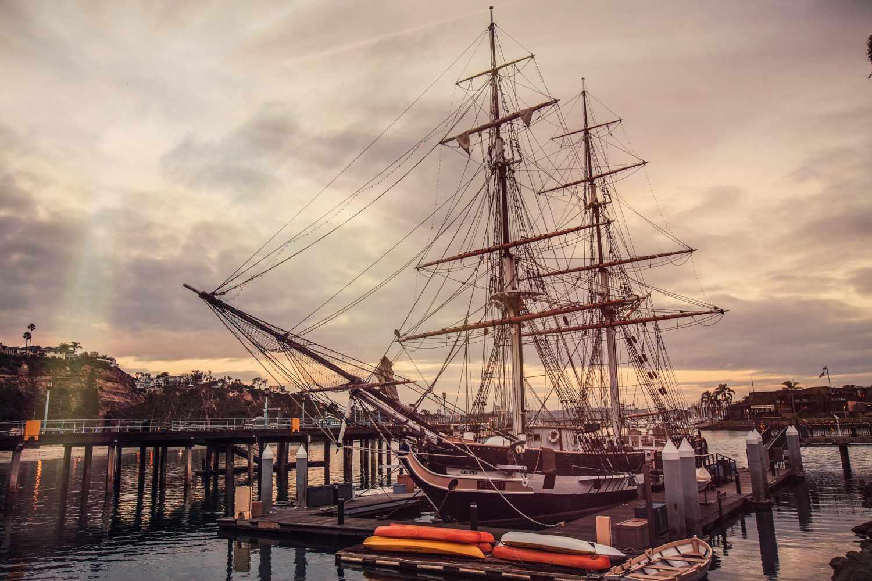 The Pilgrim Tall Ship in Dana Point, CA