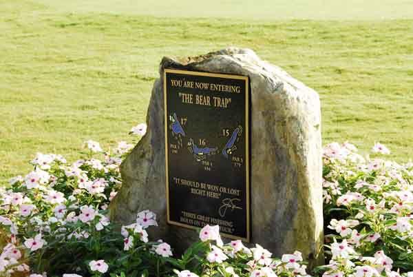 Image of the Bear Trap Marker at 15