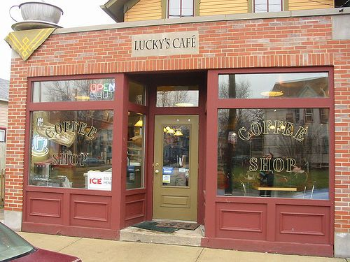Lucky's Coffee House, Tremont, Cleveland Ohio