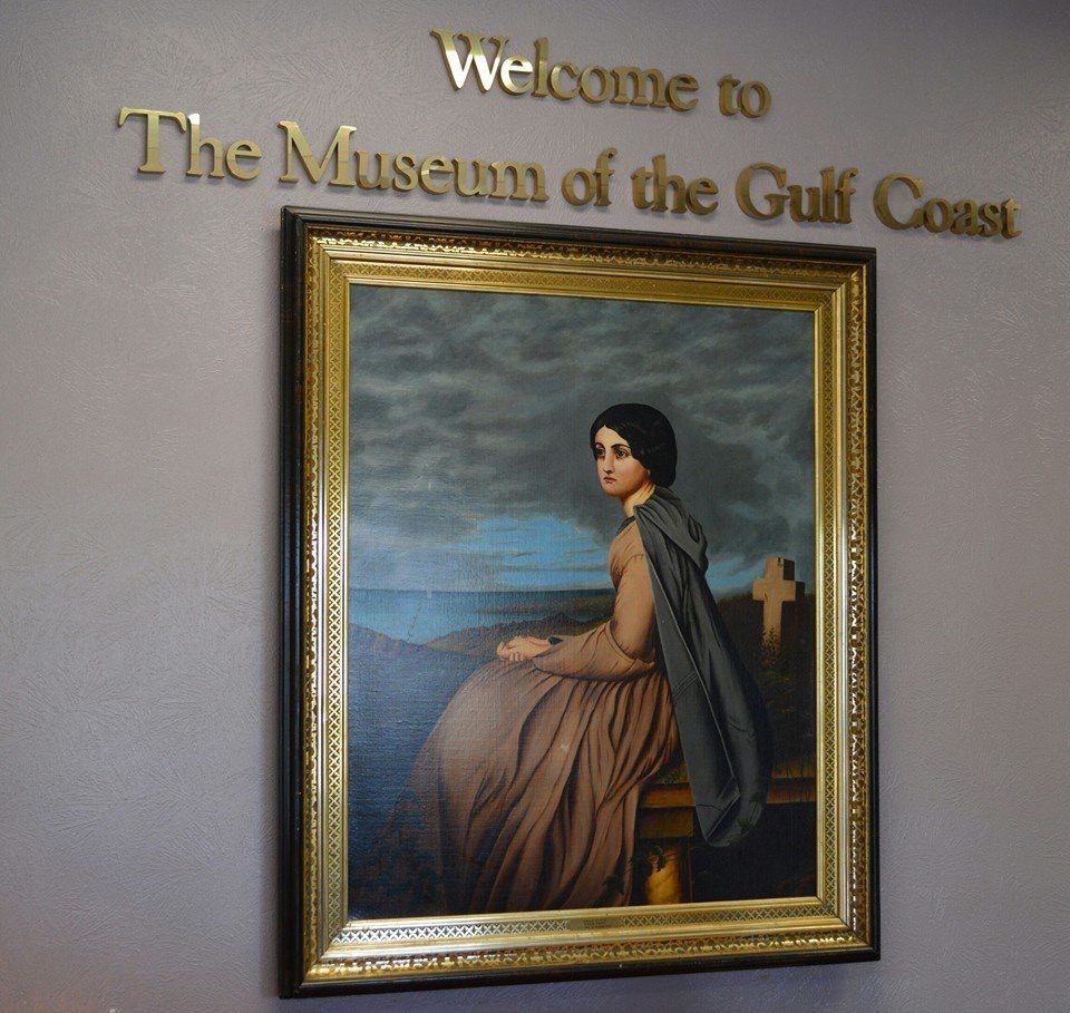 The Museum of the Gulf Coast in Port Arthur, Texas
