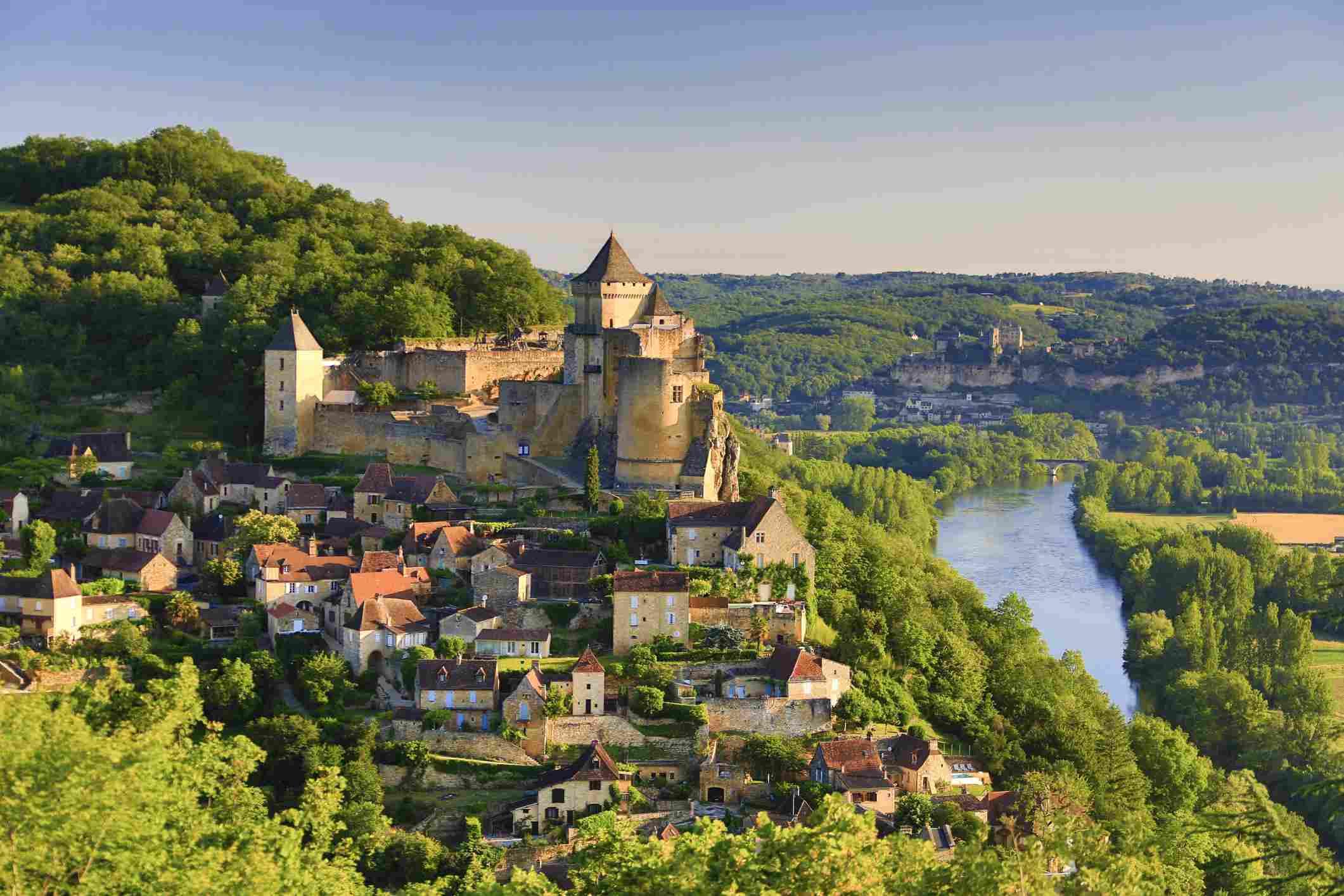 Beynac in the Dordogne Valley