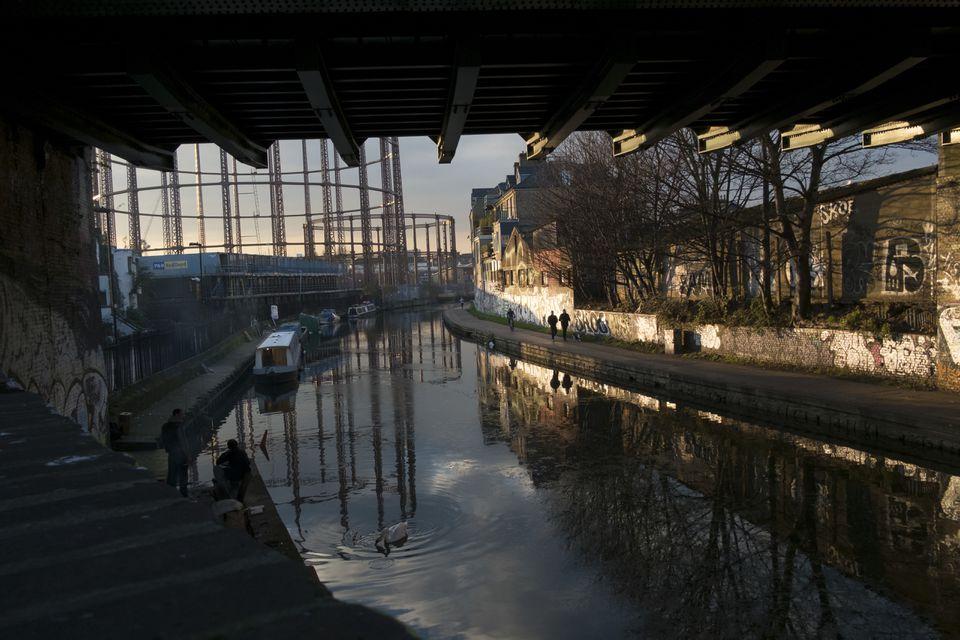Regent's Canal en Hackney, Londres