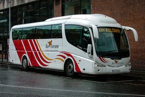 Bus Éireann will get you almost everywhere ... if you have time, and a knack for finding connections