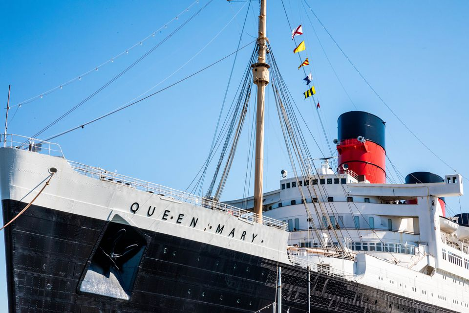 The Queen Mary ocean liner