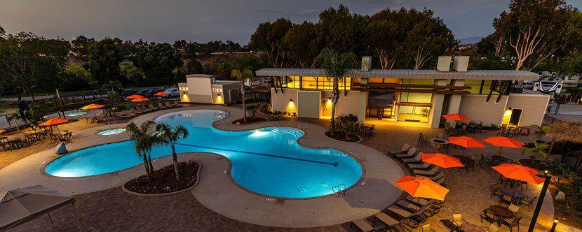 Pool at San Diego KOA
