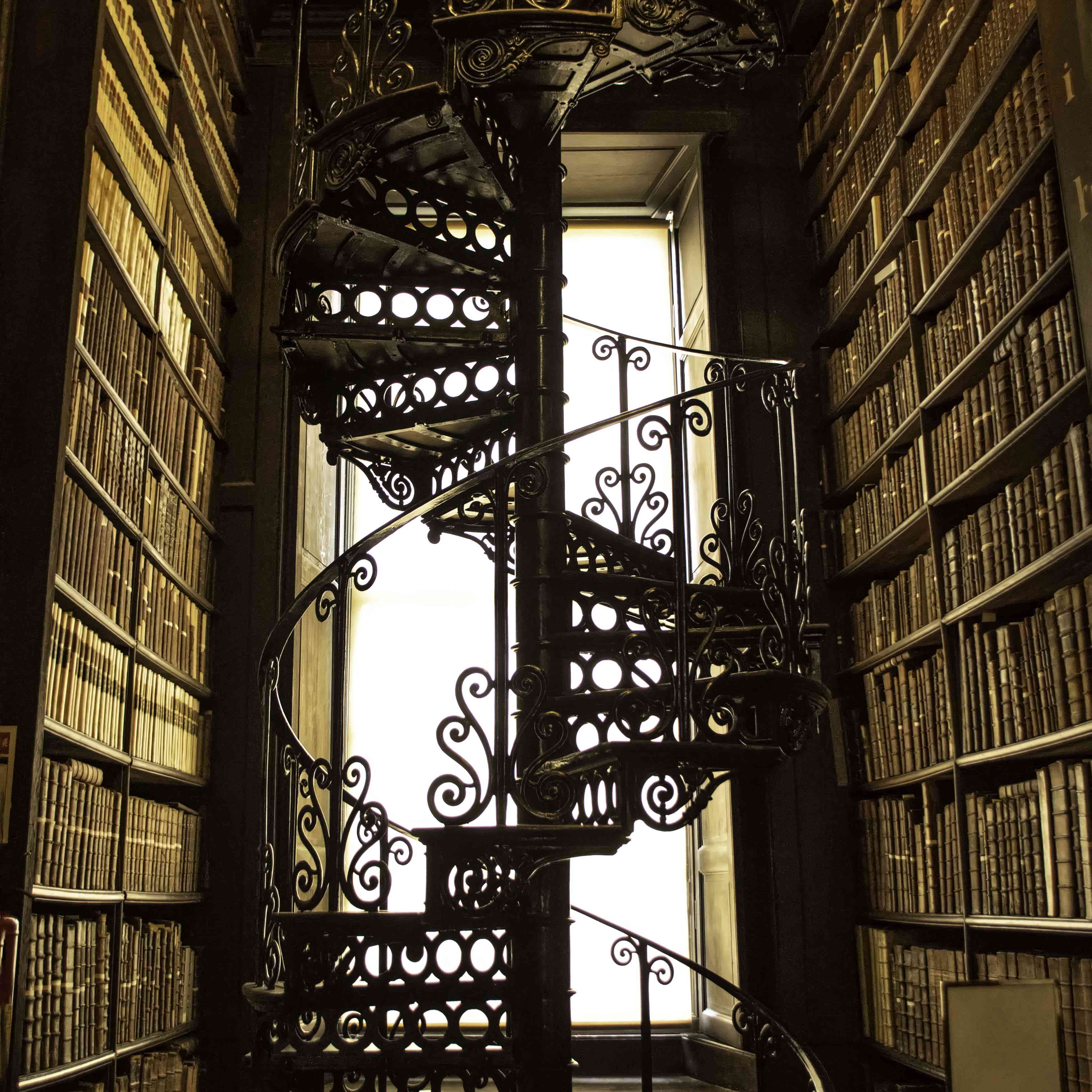Library in Trinity College