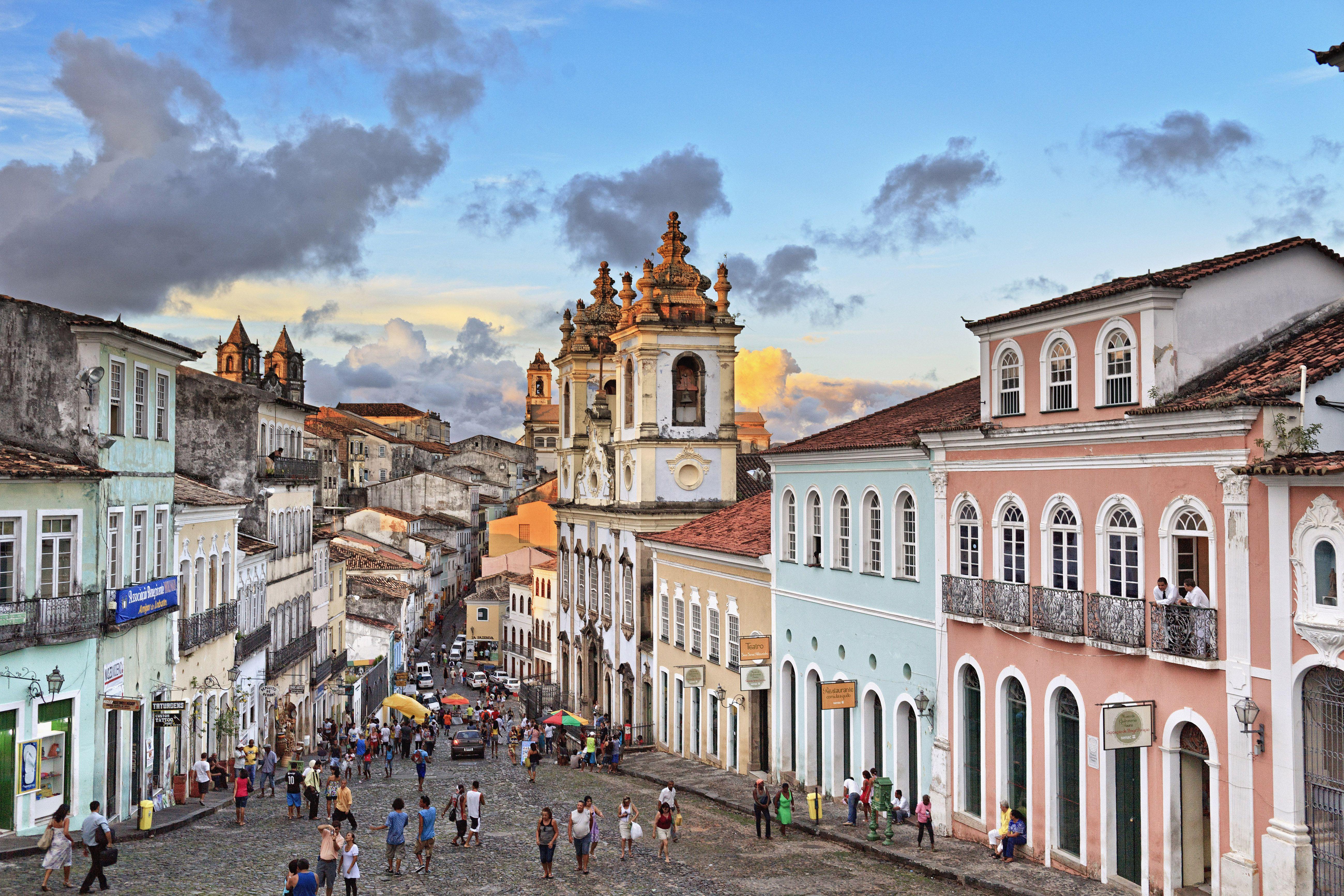 Brazil, Bahia, Salvador, Pelourinho, old town