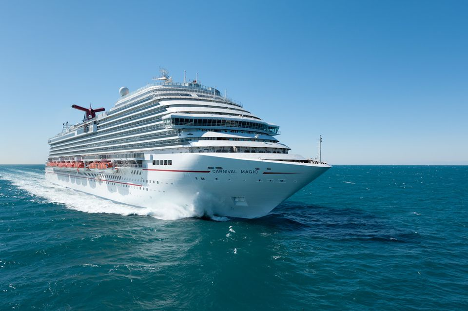 Carnival Magic Cruise Ship at Sea
