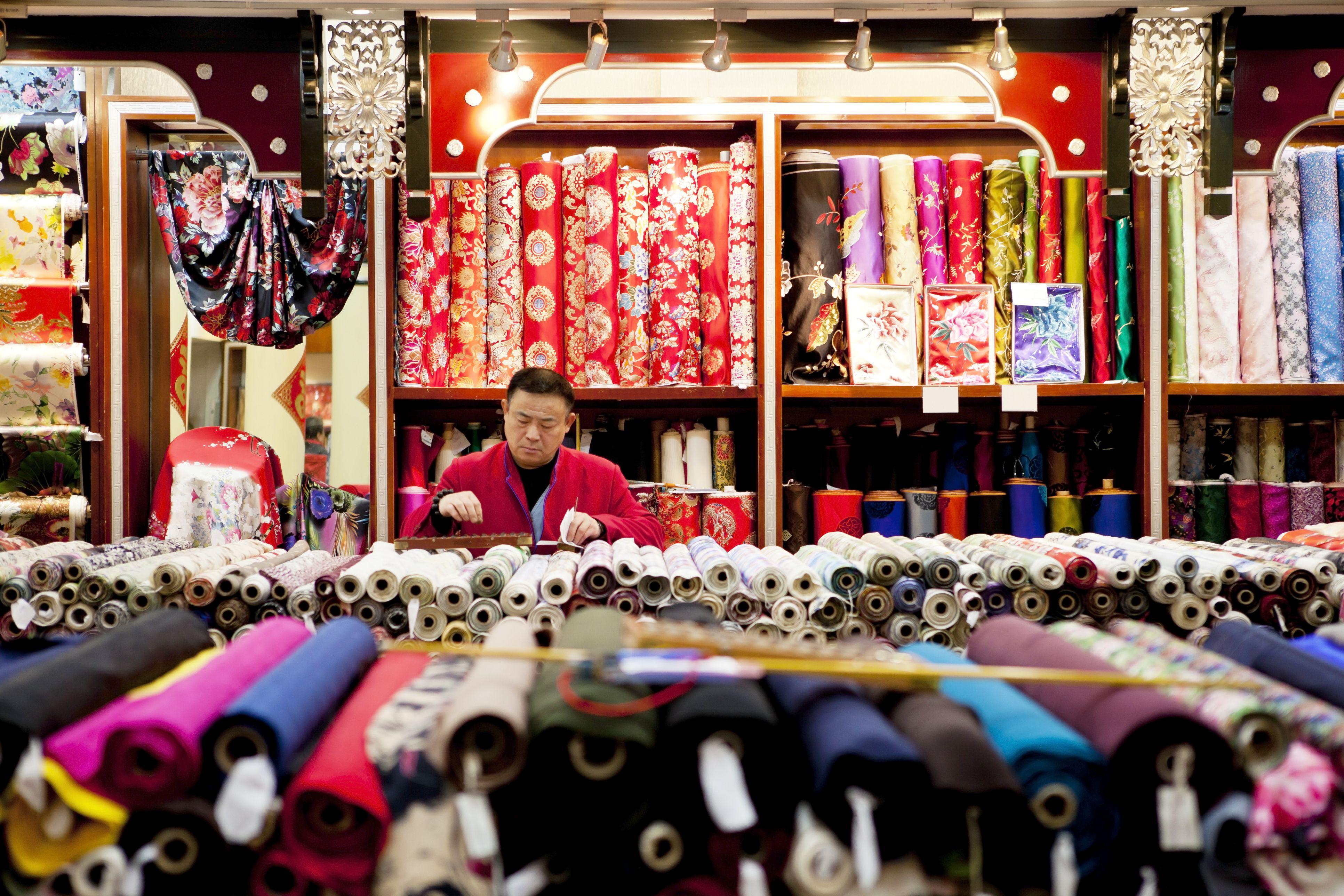 silk shop China
