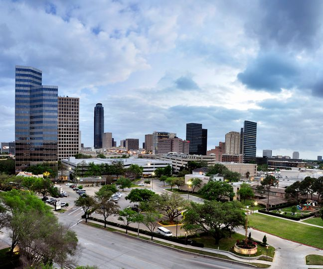 The Galleria Area in Houston