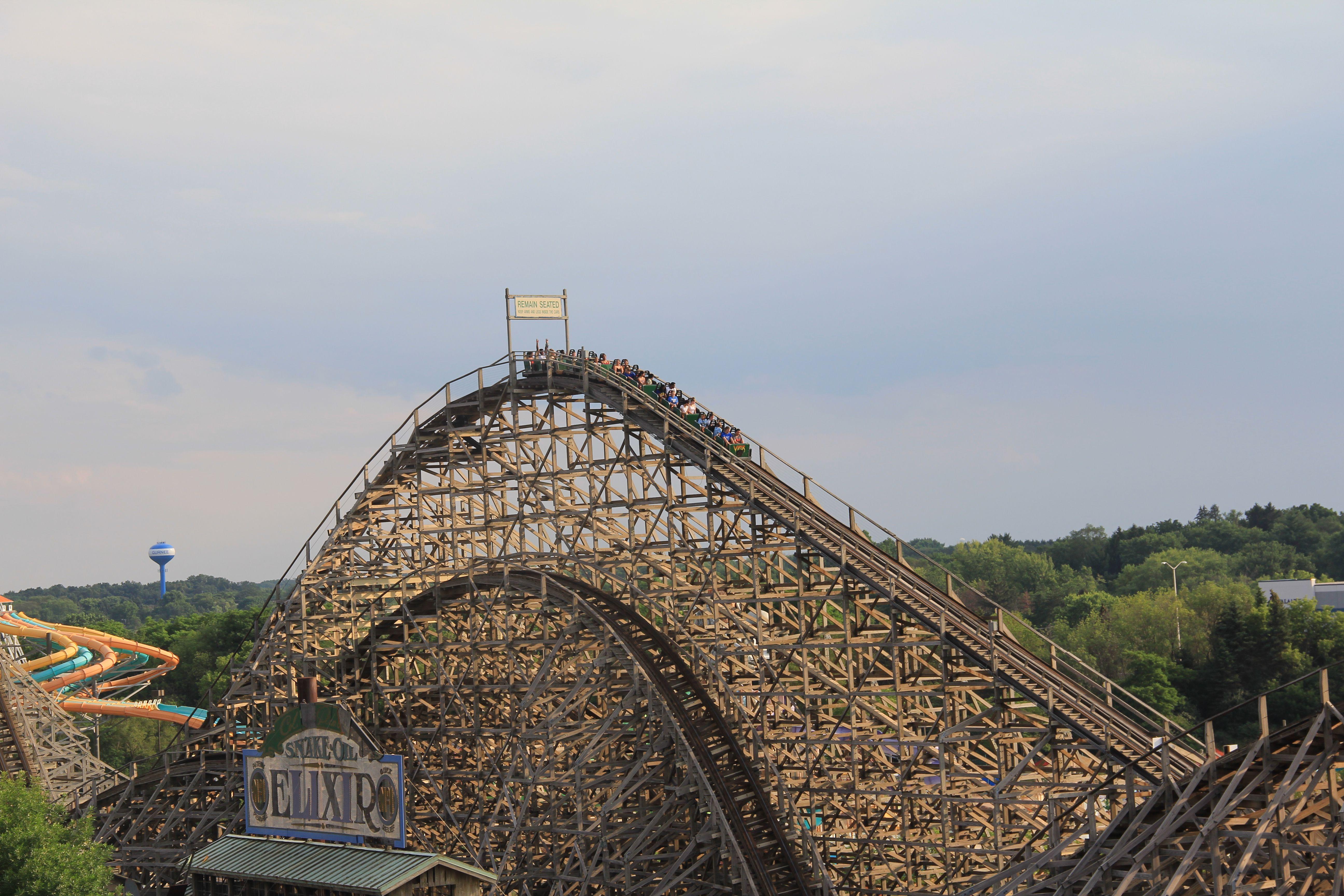 Viper coaster at Six Flags