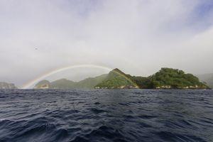 Rainbow over Cocos