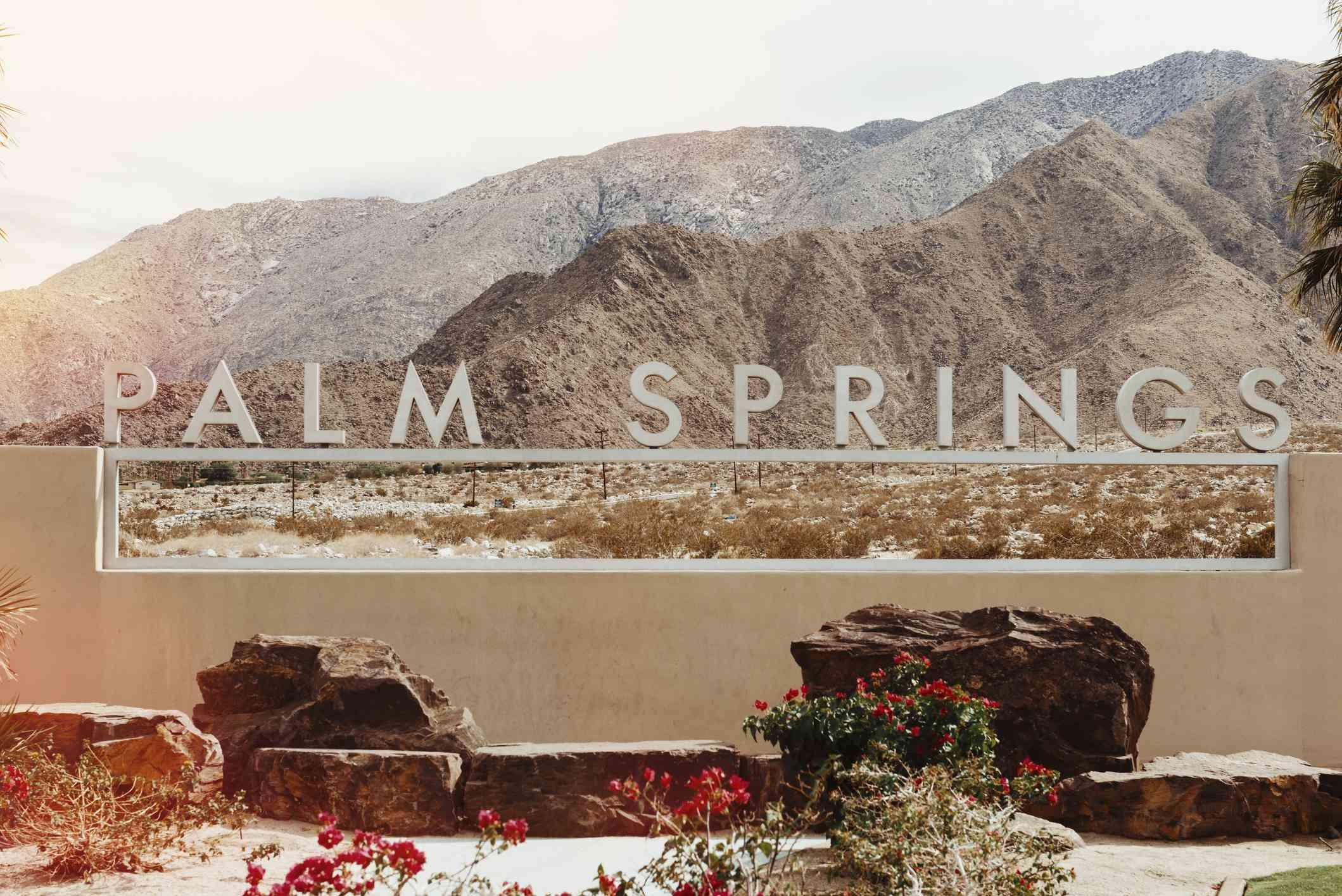 Bright Sun in Palm Springs