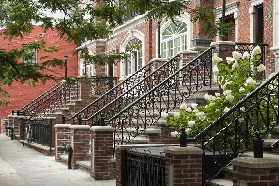 Houses in Cobble Hill, Brooklyn.