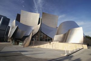 The Walt Disney Concert Hall in Los Angeles