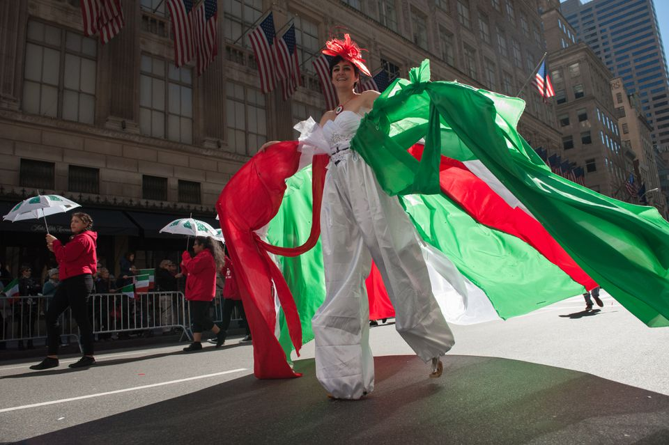 Annual New York Columbus Day Parade