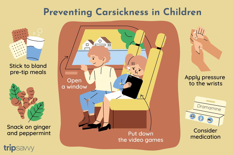 8 Ways to Prevent Car Sickness in Children