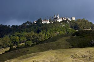 Hearst Castle on Hilltop, San Simeon, California
