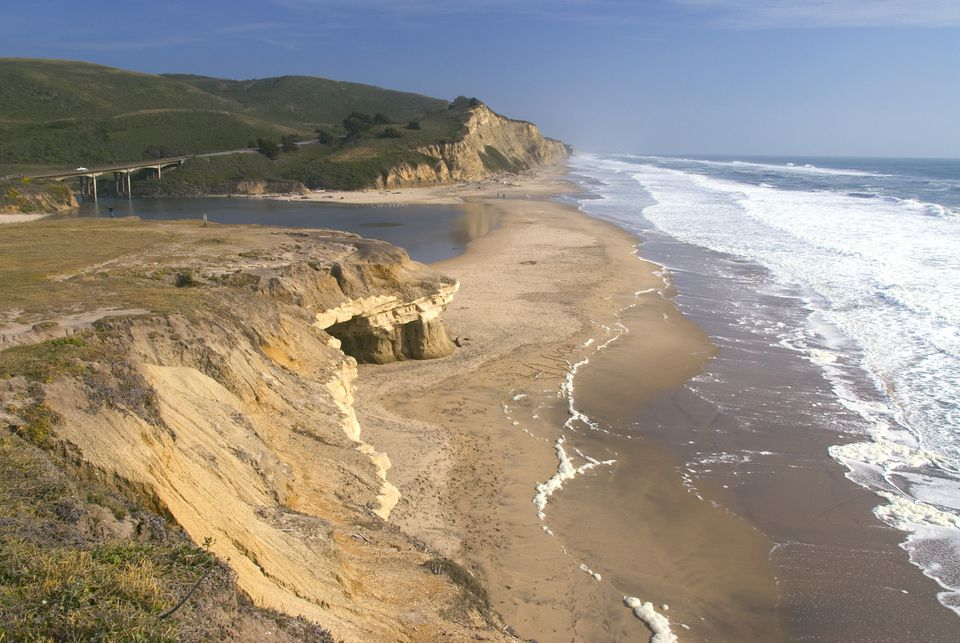 San Gregorio State Beach in California