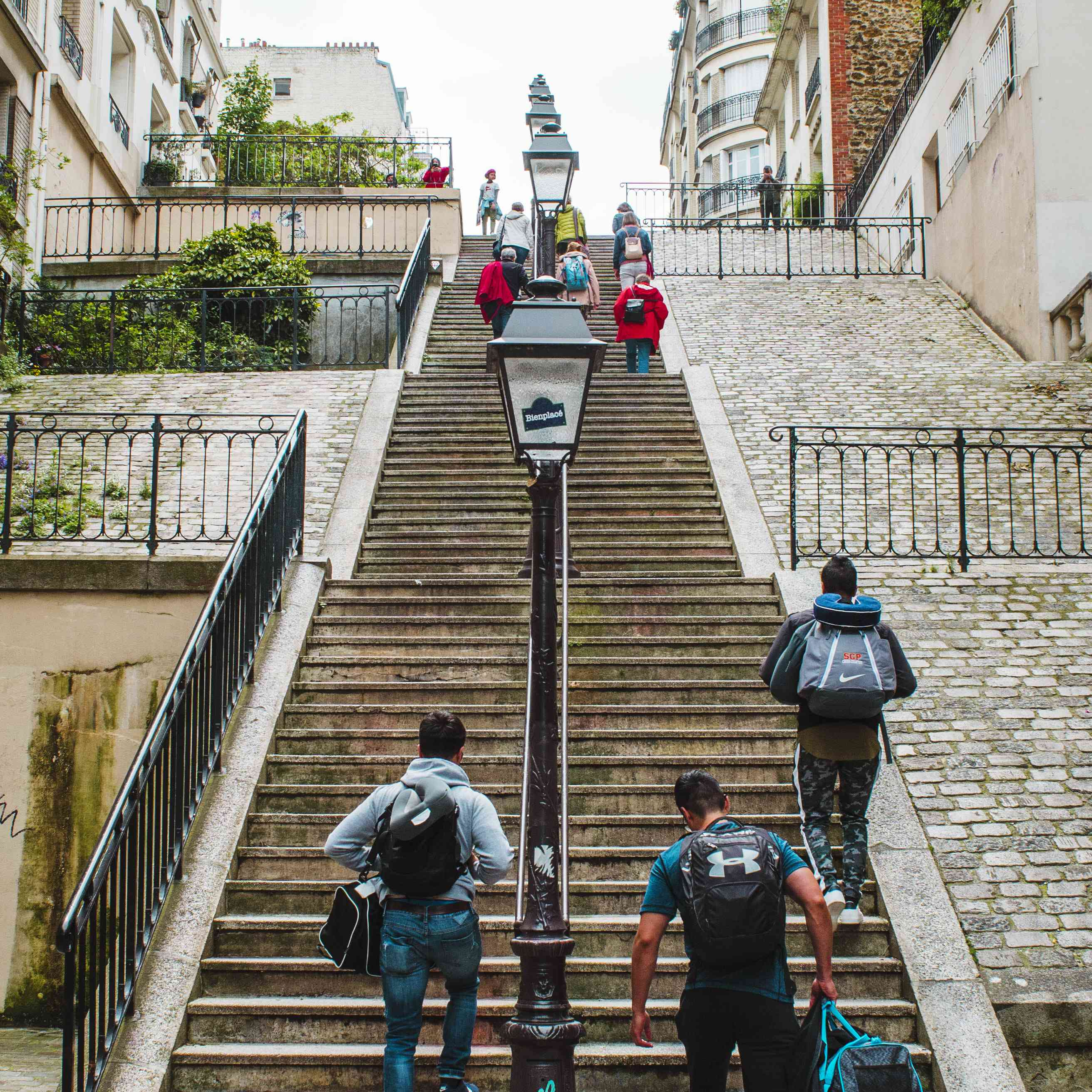 Stairs in Montmarte