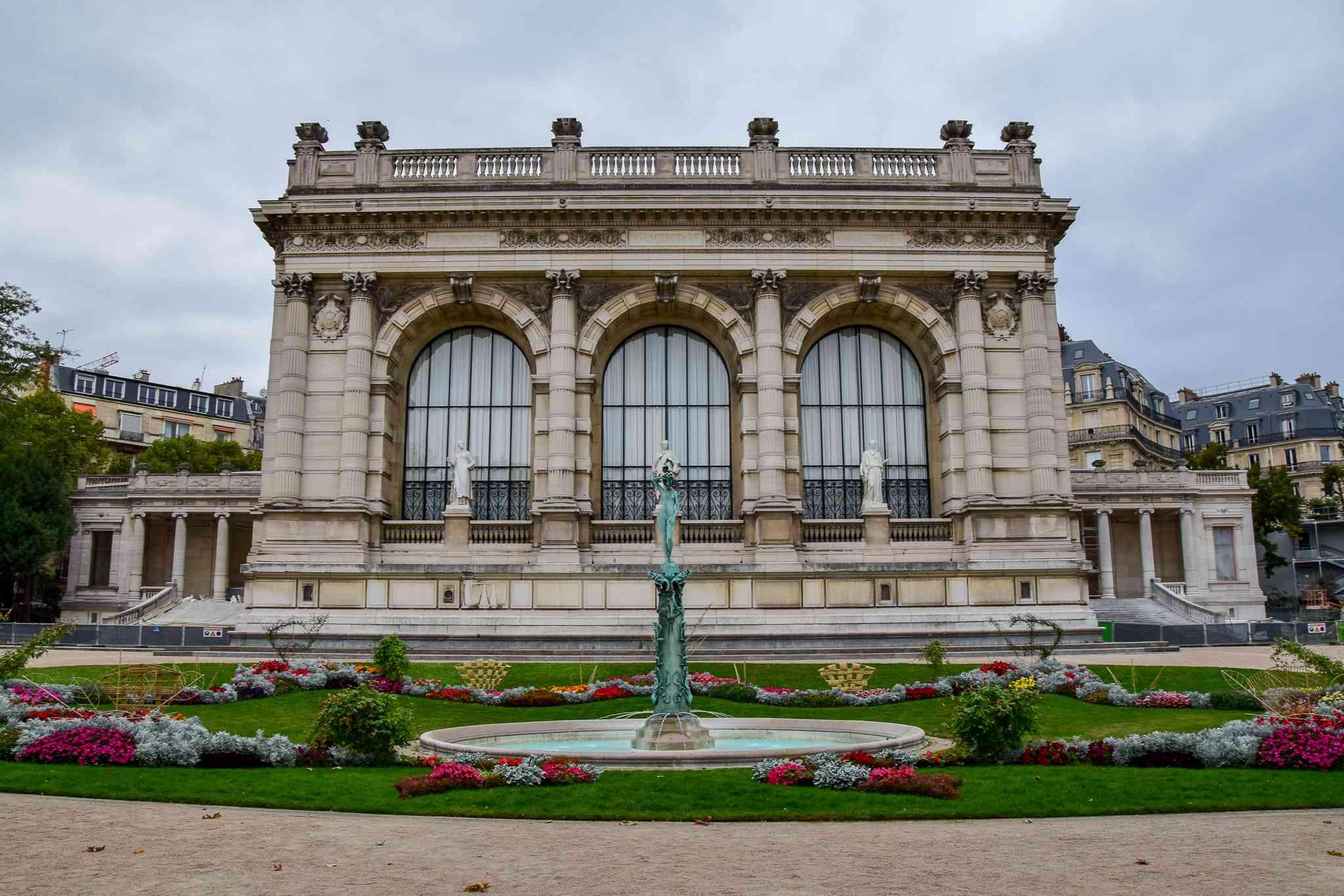 The Palais Galleria in Paris, France
