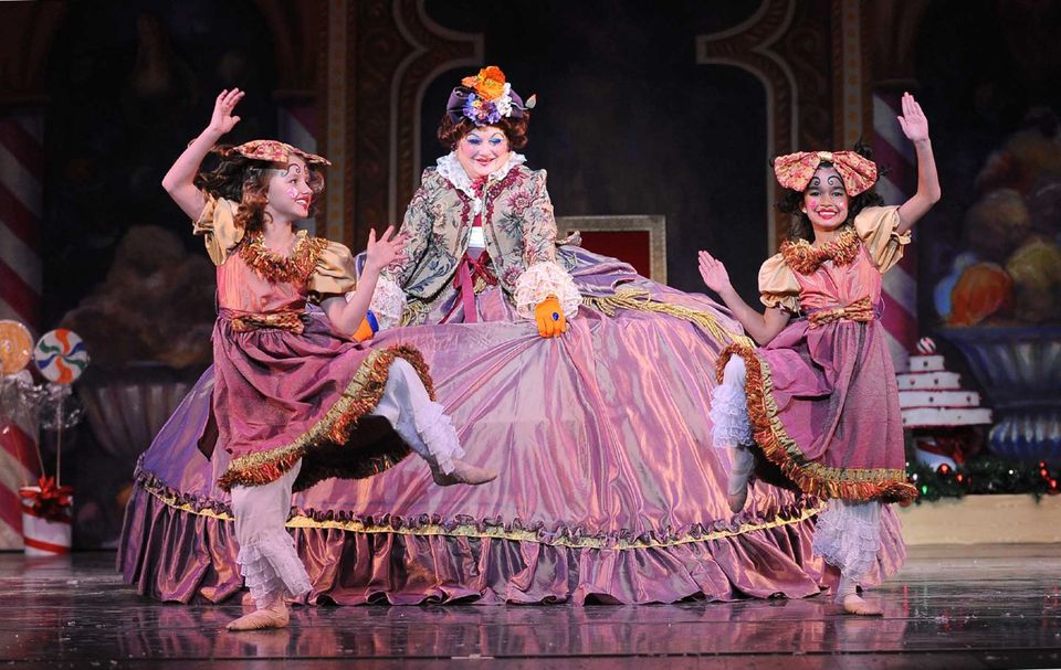 Performance of The Nutcracker at the Pioneer Center in Reno, Nevada