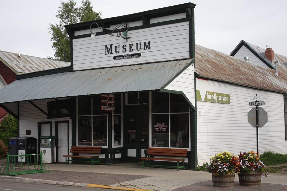 Outside the Crested Butte Mtn. Heritage Museum